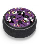 Kuromi Pattern Amazon Echo Dot Skin