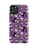Kuromi Pattern iPhone 11 Pro Max Impact Case