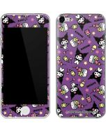 Kuromi Pattern Apple iPod Skin