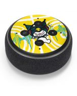 Kuromi Rocker Girl Yellow Stereos Amazon Echo Dot Skin