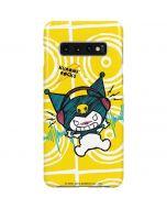 Kuromi Rocker Girl Yellow Stereos Galaxy S10 Plus Lite Case
