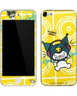 Kuromi Rocker Girl Yellow Stereos Apple iPod Skin