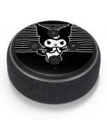 Kuromi Stripes Amazon Echo Dot Skin
