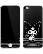 Kuromi Stripes Apple iPod Skin