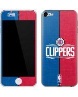 LA Clippers Canvas Apple iPod Skin
