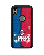 LA Clippers Canvas Otterbox Commuter iPhone Skin