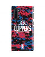 LA Clippers Digi Camo Galaxy Note 10 Pro Case
