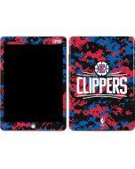 LA Clippers Digi Camo Apple iPad Skin