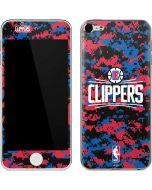 LA Clippers Digi Camo Apple iPod Skin
