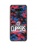 LA Clippers Digi Camo LG K51/Q51 Clear Case