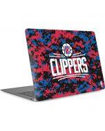 LA Clippers Digi Camo Apple MacBook Air Skin