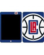 LA Clippers Large Logo Apple iPad Skin