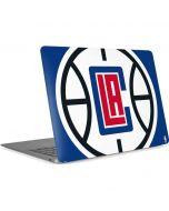 LA Clippers Large Logo Apple MacBook Air Skin