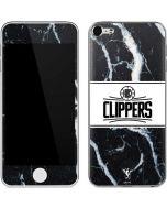 LA Clippers Marble Apple iPod Skin