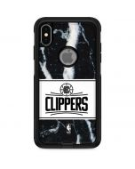 LA Clippers Marble Otterbox Commuter iPhone Skin