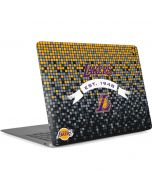 LA Lakers Digi Apple MacBook Air Skin
