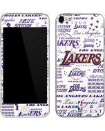 LA Lakers Historic Blast Apple iPod Skin