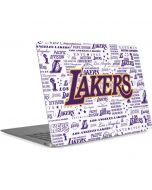 LA Lakers Historic Blast Apple MacBook Air Skin