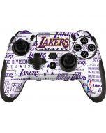 LA Lakers Historic Blast PlayStation Scuf Vantage 2 Controller Skin
