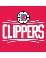 Los Angeles Clippers Distressed Red Apple iPad Skin