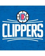 Los Angeles Clippers Distressed Blue Apple iPad Skin