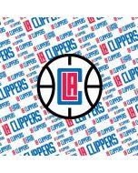 Los Angeles Clippers Blast Text Amazon Echo Skin