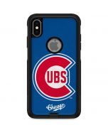 Large Vintage Cubs Otterbox Commuter iPhone Skin