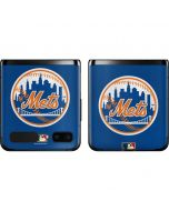 Large Vintage Mets Galaxy Z Flip Skin
