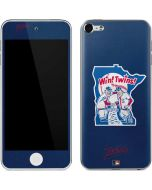 Large Vintage Twins Apple iPod Skin