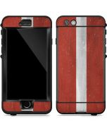 Latvia Flag Distressed LifeProof Nuud iPhone Skin