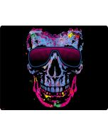 Neon Skull with Glasses Generic Laptop Skin