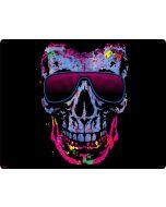 Neon Skull with Glasses Apple iPod Skin