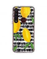 Lemons 2 Moto G8 Plus Clear Case