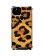 Leopard Google Pixel 5 Clear Case