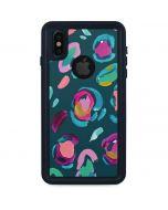 Leopard Spots iPhone X Waterproof Case