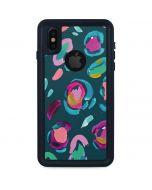 Leopard Spots iPhone XS Waterproof Case