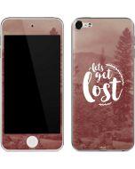 Lets Get Lost Apple iPod Skin