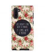 Life Doesnt Come With A Manual Galaxy Note 10 Pro Case