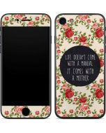 Life Doesnt Come With A Manual iPhone 8 Skin