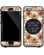 Life Doesnt Come With A Manual LifeProof Nuud iPhone Skin