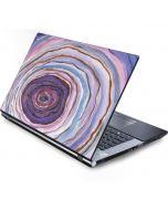 Lilac Watercolor Geode Generic Laptop Skin