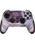 Lilac Watercolor Geode PlayStation Scuf Vantage 2 Controller Skin