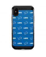 Detroit Lions Blitz Series iPhone XS Max Cargo Case