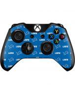 Detroit Lions Blitz Series Xbox One Controller Skin