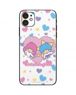 Little Twin Stars Hearts iPhone 11 Skin