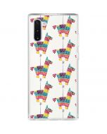 Llama Pinata Galaxy Note 10 Clear Case