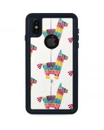 Llama Pinata iPhone X Waterproof Case