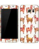 Alpacas Galaxy S6 edge+ Skin
