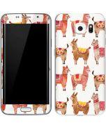 Alpacas Galaxy S6 Edge Skin