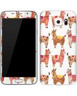 Alpacas Galaxy S6 Skin